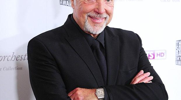 Sir Tom Jones is one of the coaches on The Voice