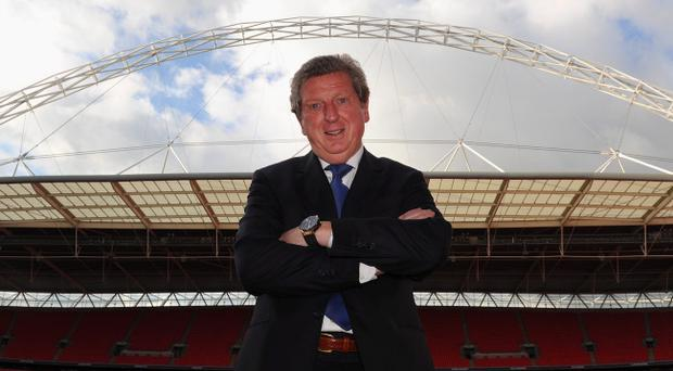LONDON, ENGLAND - MAY 01: New England manager Roy Hodgson poses after a press conference at Wembley Stadium on May 1, 2012 in London, England. (Photo by Michael Regan-Pool/Getty Images)