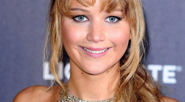 Jennifer Lawrence is nominated for her performance in The Hunger Games