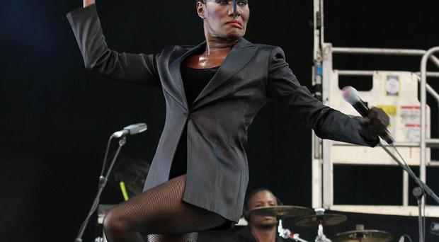 Grace Jones will be entertaining the Queen at the Jubilee gig