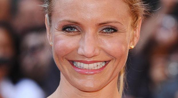 Cameron Diaz said she was shocked when she saw her new hairdo
