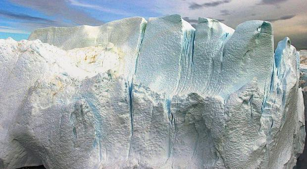Greenland's glaciers are losing ice at an increasingly faster rate, says a new study (AP)