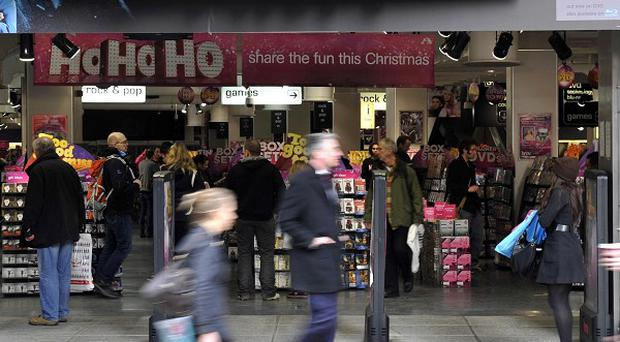 HMV hopes to return to profit in the next financial year
