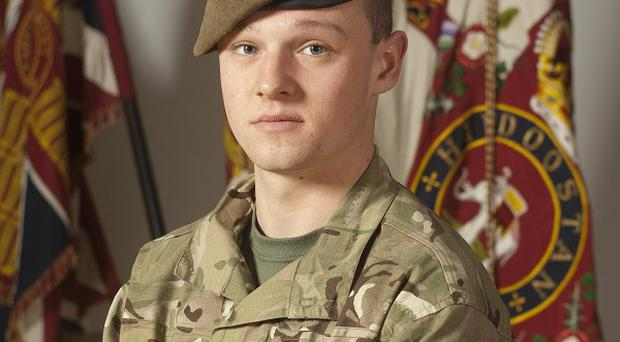 Private Daniel Wilford, 21, died in an explosion in Afghanistan alongside five colleagues