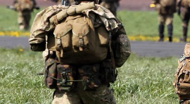 A soldier has died during training exercises in Wales