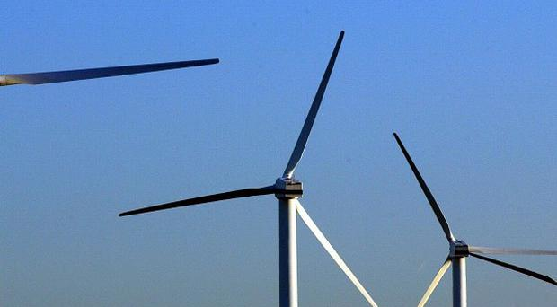 A British diver has died during maintenance on a North Sea wind farm
