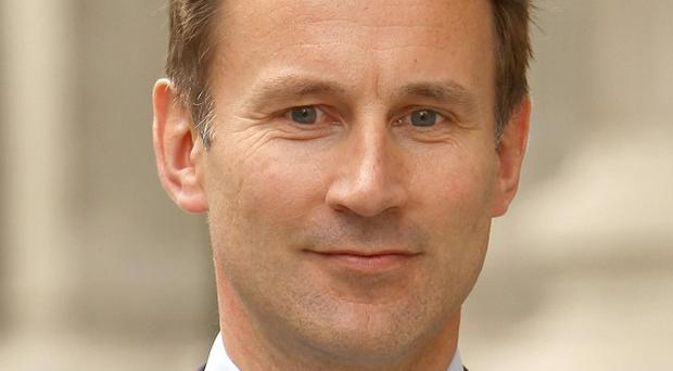Culture Secretary Jeremy Hunt and seven other Cabinet ministers have been named core participants in the Leveson Inquiry