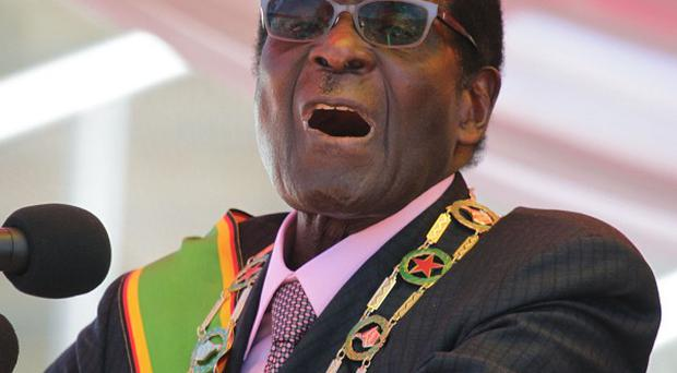 Zimbabwe president Robert Mugabe said party leaders had become 'too materialistic'