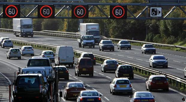 Parts of the M40 have been closed following a fatal road accident