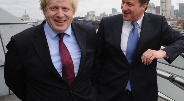 Prime Minister David Cameron paid tribute to Boris Johnson after he was re-elected London Mayor