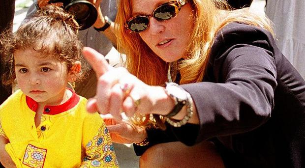The Duchess of York is being tried in absentia in Turkey over undercover filming in an orphanage (AP)