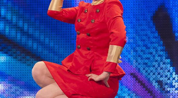 Britain's Got Talent bosses are set to screen saucy dancer Beatrix Von Bourbon's latest routine before the watershed (ITV/PA Wire)