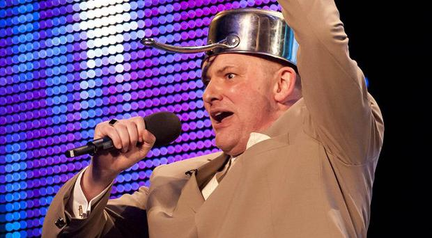 Martyn Crofts from Yorkshire, one of this year's semi-finalists in ITV1's Britain's Got Talent. (ITV/PA)