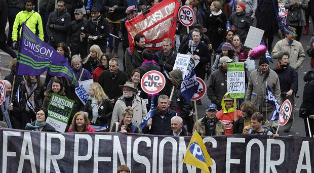 Public sector workers will join strikes and other forms of protest on Thursday