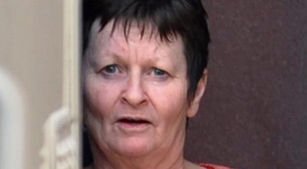 Susan Margaret Lorraine Crawford from The Woodlands, Culmore Road who pleaded guilty to twenty-eight charges of stealing £12,800 from her eighty two years old patient's Post Office savings account between June 2008 and January 2009. Crawford was sentenced yesterday at Londonderry Court. Picture Martin McKeown. Inpresspics.com. 4.5.12
