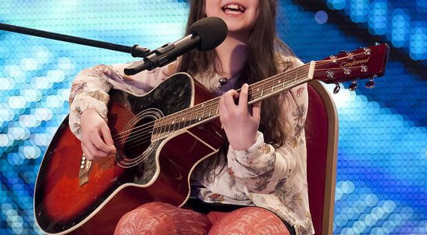 Lauren Thalia, 12, is through to the finals of Britain's Got Talent