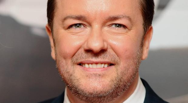 Ricky Gervais is backing an NHS drive to raise awareness of lung cancer