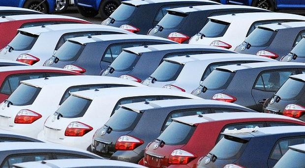 Sales of new cars slumped most in the north-west of England last year, figures reveal