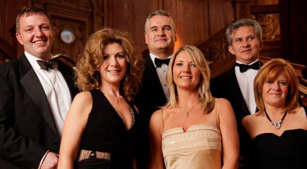 An evening to remember - guests at the charity ball gala in Titanic Belfast