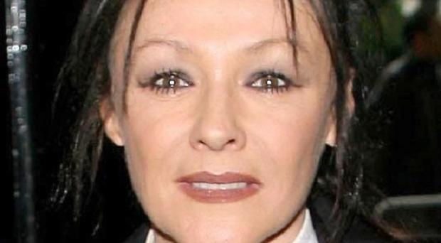 Frances Barber said she is not worried about getting older as she feels 26 and acts 12