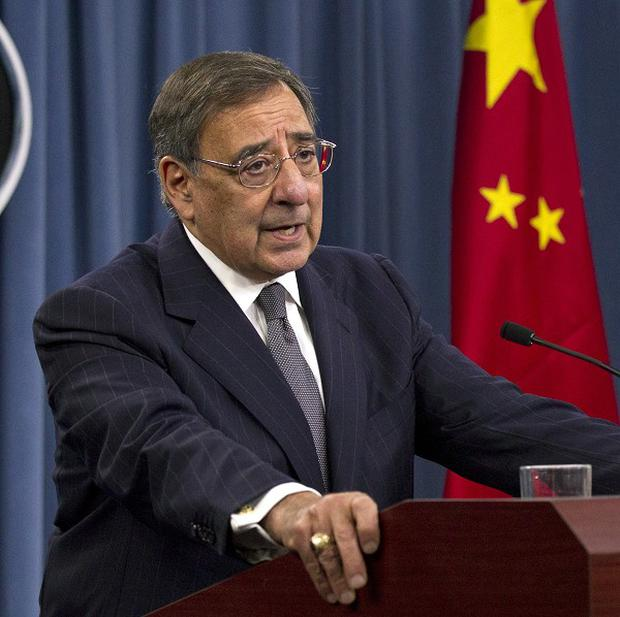Leon Panetta acknowledged that not all cyber-attacks against the US came from China (AP/Manuel Balce Ceneta)