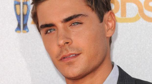Zac Efron flashed more flesh than usual in The Lucky One