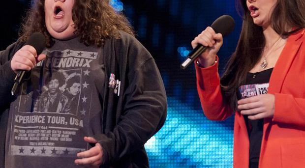 Jonathan and Charlotte are through to the Britain's Got Talent final