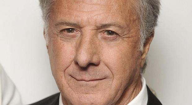 Dustin Hoffman was walking in Hyde Park when a jogger collapsed