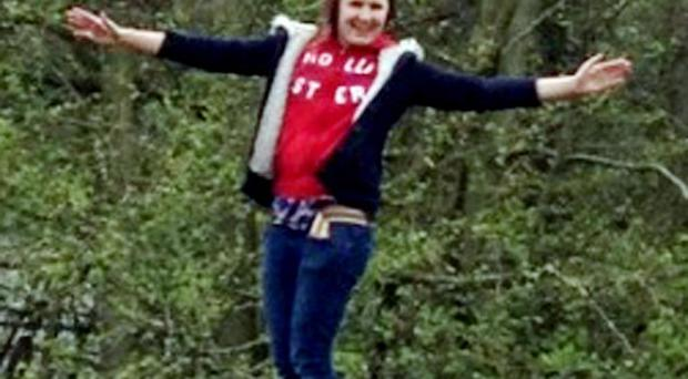 Hannah Thomas-Jones, 14, died in a campsite tragedy thought to have been caused by a disposable barbecue (Family Handout/PA Wire)