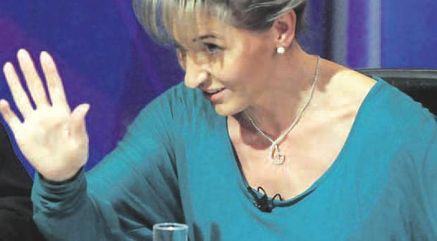 Sinn Fein's Martina Anderson on last night's Question Time which was held in Derry