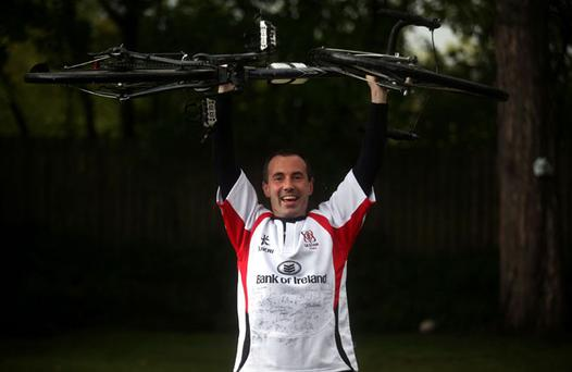 Neil McConkey who has been following the Ulster Rugby Team on their Heineken Cup journey