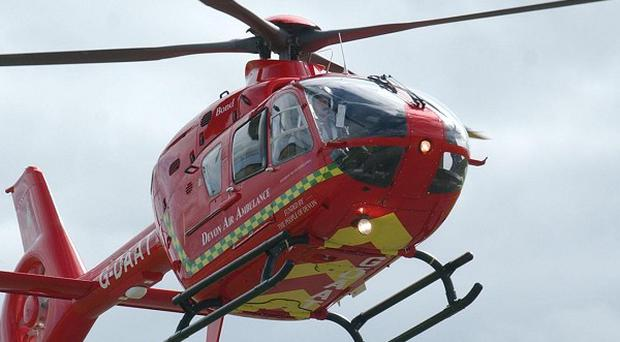 Air ambulances grounded over safety fears have been given permission to fly again