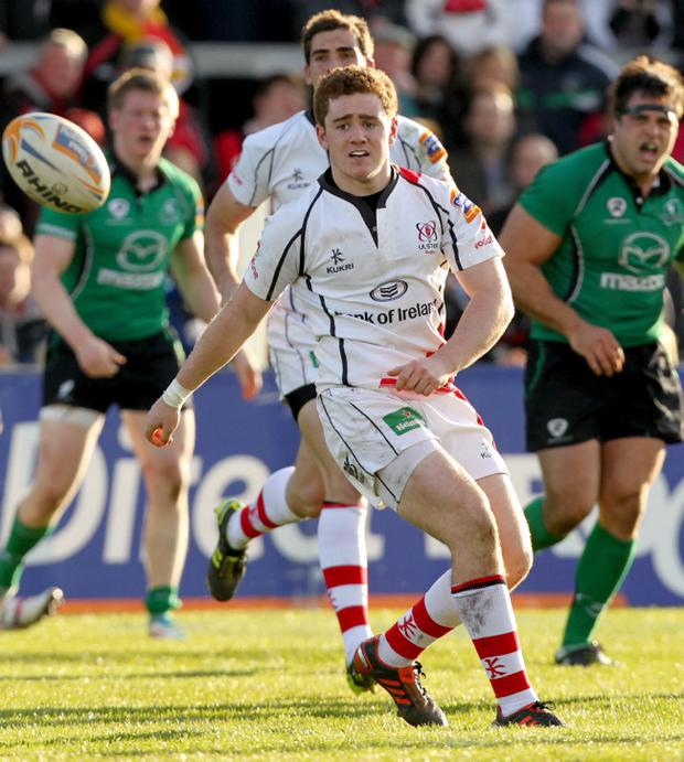 Paddy Jackson has stepped into the 10 position for Ulster