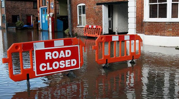 Further downpours have been forecast to hit southern and eastern England and Wales