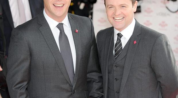 BGT hosts Ant and Dec flagged up the problems during Sunday's show