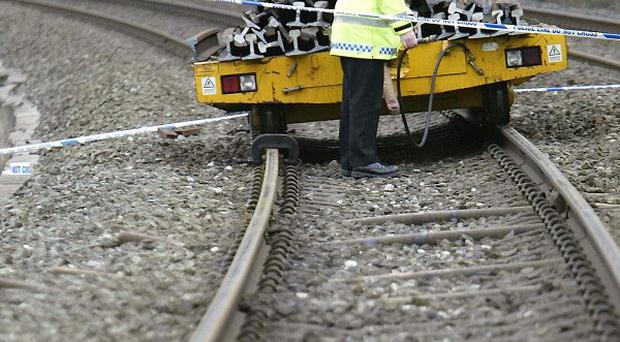 A passenger train has crashed into a herd of cows between Oxford and Banbury