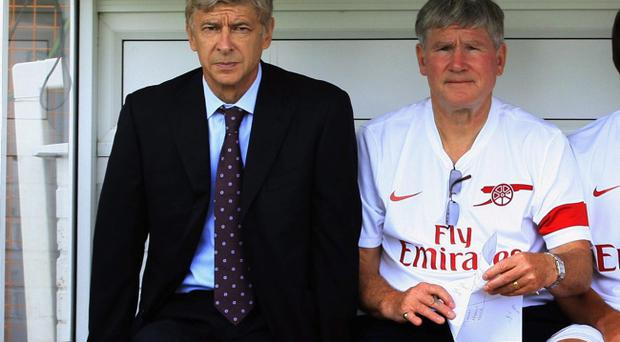 Pat Rice and Arsène Wenger have worked together since 1996