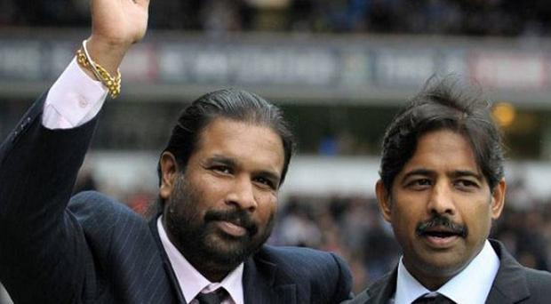 Venkatesh Rao (right) says 'nobody is to blame' for Blackburn Rovers' relegation