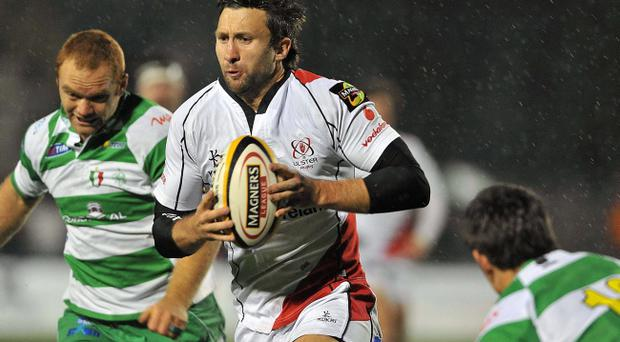 Simon Danielli played 78 times and scored 26 tries for Ulster during a five-year spell at Ravenhill