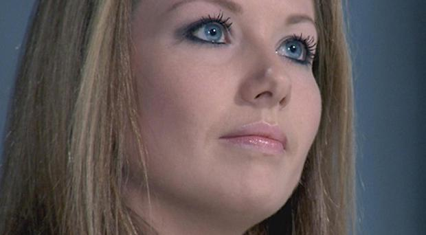 Laura Hogg was 'fired' by Lord Sugar in this week's edition of The Apprentice (BBC/PA)