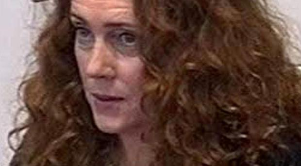 Former News of the World editor Rebekah Brooks gives evidence to Britain's media ethics inquiry in central London Friday May 11 2012