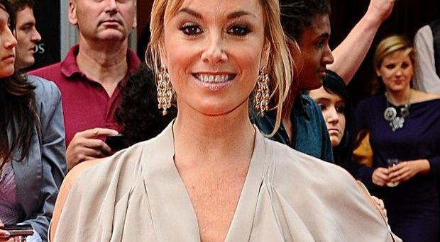 Actress Tamzin Outhwaite said she was left 'shaken up' by a burglary