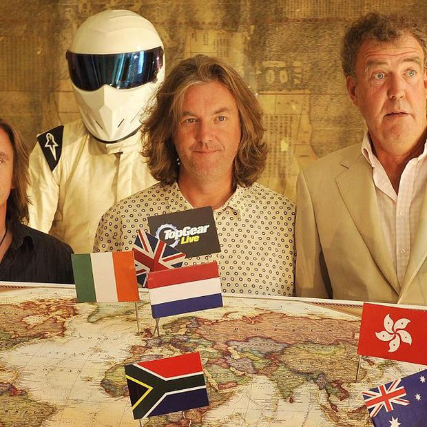 Top Gear has picked up a major international TV prize