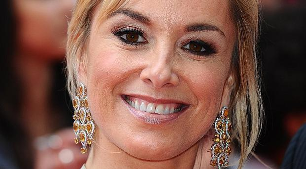 Tamzin Outhwaite said she was 'shaken up' after the burglary