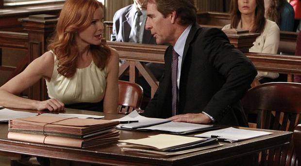 The final episode of Desperate Housewives sees several characters in a courtroom drama (ABC/AP)