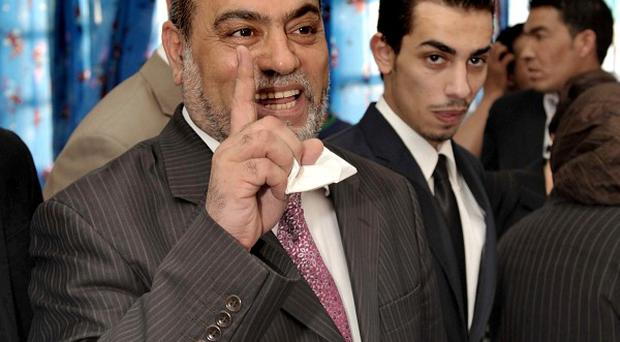 Bouguerra Soltani, head of the Islamist Alliance party, which was trounced in the parliamentary elections(AP)