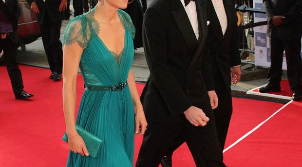 The Duke and Duchess of Cambridge arrive at the Our Greatest Team Rises gala dinner