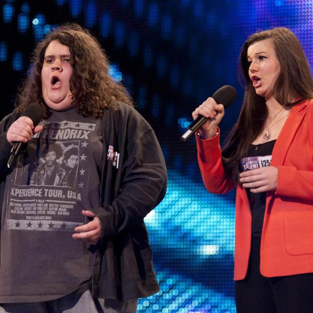Jonathan and Charlotte are the hot favourites in the Britain's Got Talent final