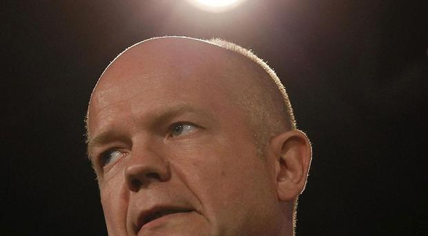 William Hague told the country's bosses to work harder in the current economic climate