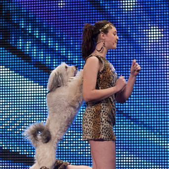 Ashleigh and Pudsey have been crowned the winners of Britain's Got Talent 2012